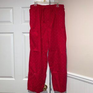 Red Tommy hilfiger Pajama Pants